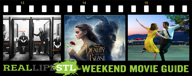 Beauty and the Beast and T2: Trainspotting open in move theaters this weekend.