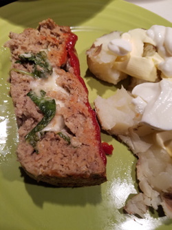 Turkey Stuffed Meatloaf