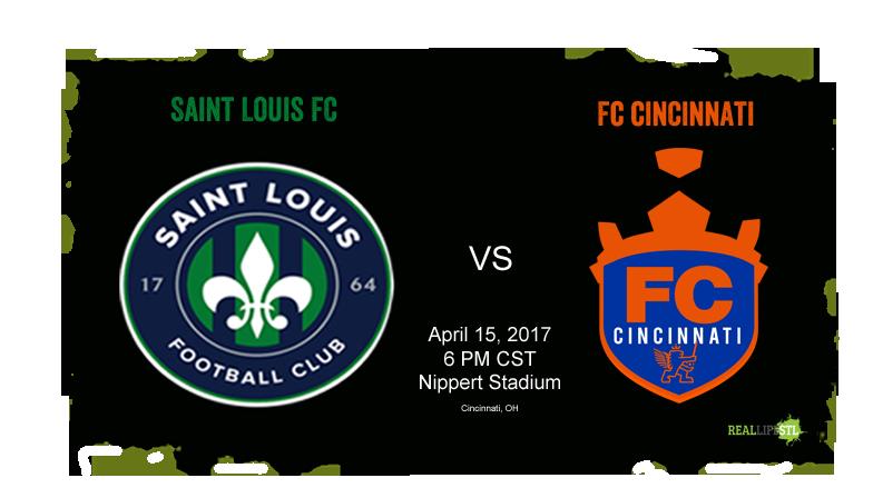 Saint Louis FC takes on FC Cincinnati on April 15, 2017 at Nippert Stadium in Cincinnati.
