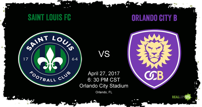 Saint Louis FC travels to Florida on Thursday, April 27, 2017 to face Orlando City B in a USL match.