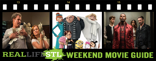 Despicable Me 3, The House and Baby Driver open in movie theaters across St. Louis this weekend.