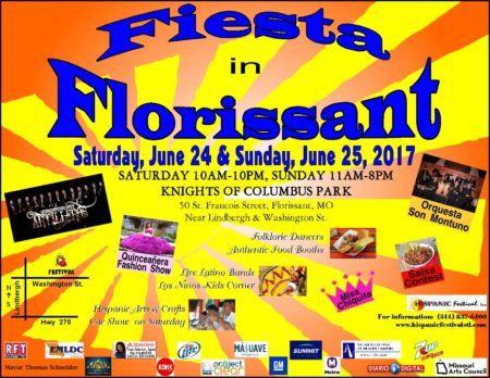 Fiesta in Florissant in the STL Weekend Events Guide for June 22-25, 2017.