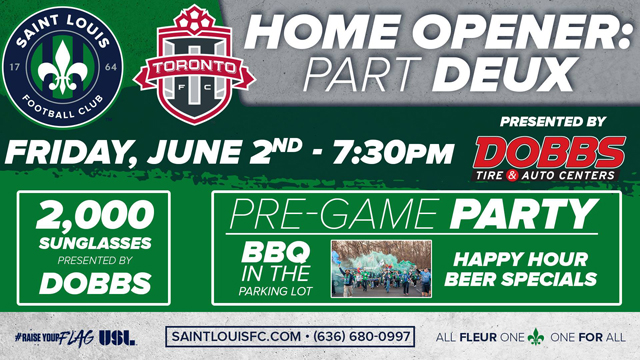 Saint Louis FC Home Opener Part Deux