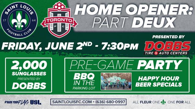Saint Louis FC Home Opener Part Deux