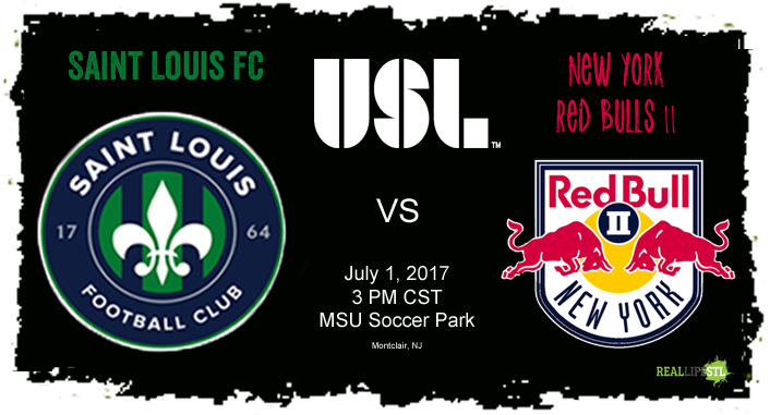 Saint Louis FC takes on New York Red Bulls II on July 1, 2017 in a United Soccer League match. at MSU Soccer Park in Montclair, New Jersey.