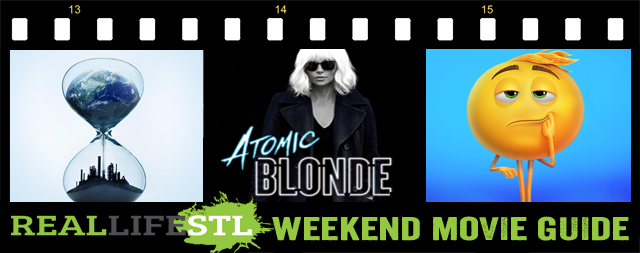 Atomic Blonde, The Emoji Movie and An Inconvienent Sequel all open in movie theaters this weekend.