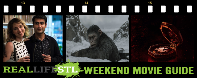 War for the Planet of the Apes, The Big Sick and Wish Upon open in movie theaters this weekend.