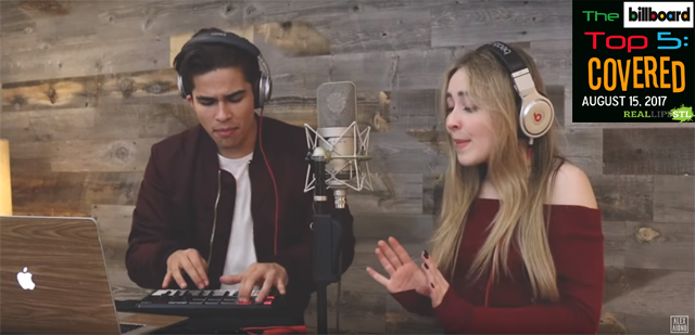 "Alex Aiono and Sabrina Carpenter cover ""Attention"" by Charlie Puth in this week's edition of The Billboard Top 5: Covered."