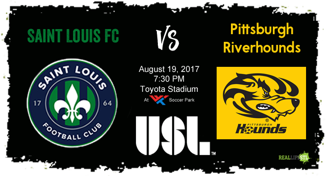 Saint Louis FC takes on the Pittsburgh Riverhounds this Saturday at Toyota Stadium at World Wide Technology Soccer Park.