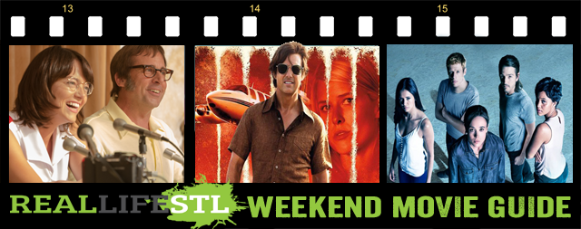 American Made, Battle of the Sexes and Flatliners open in movie theaters across St. Louis this weekend. It's the Weekend Movie Guide from RealLifeSTL.com