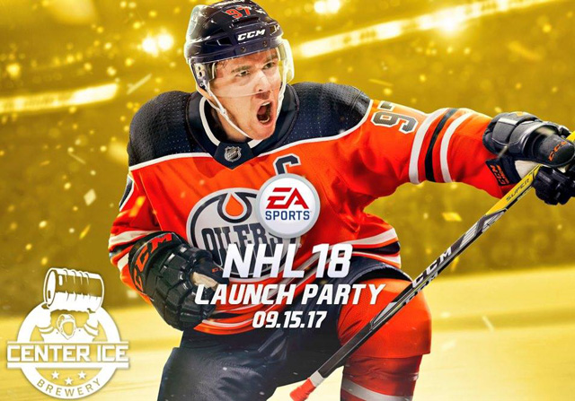 Celebrate the release of NHL 18 from EA Sports at Center Ice Brewery in St. Louis.