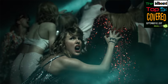 "Taylor Swift holds the top spot on the Billboard Hot 100 with ""Look What You Mad Me Do""."