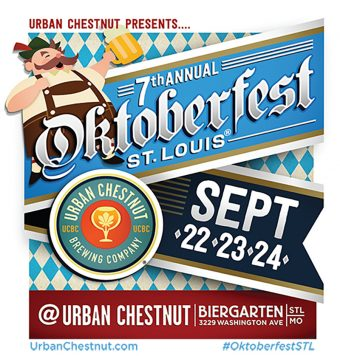 The 7th Annual Oktoberfest St. Louis festival takes place September 22-24 and the Urban Chestnut Biergarten on Washington Avenue. The event highlights the STL Weekend Events Guide from RealLifeSTL this week.