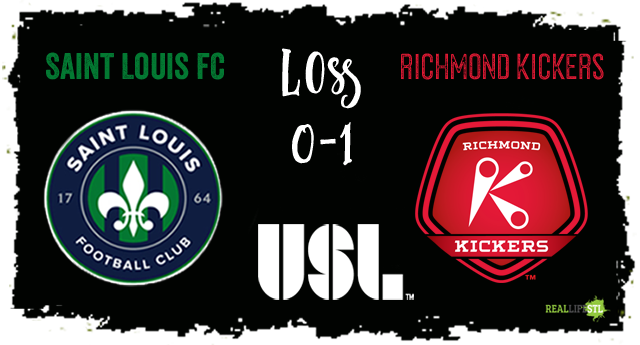 Saint Louis FC lost 1-0 to Richmond on Saturday October 7 in its final home match of the 2017 season
