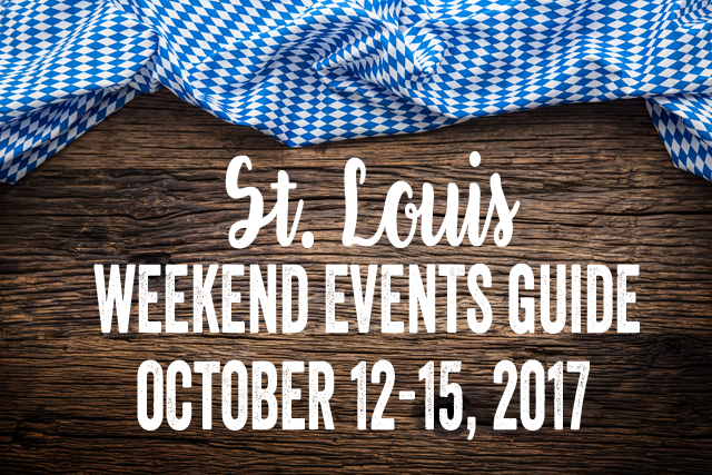 The St. Louis Weekend Events Guide for October 12-15, 2017 featuring Soulard Oktoberfest, Craftoberfest and much more. It's brought to you by RealLifeSTL.