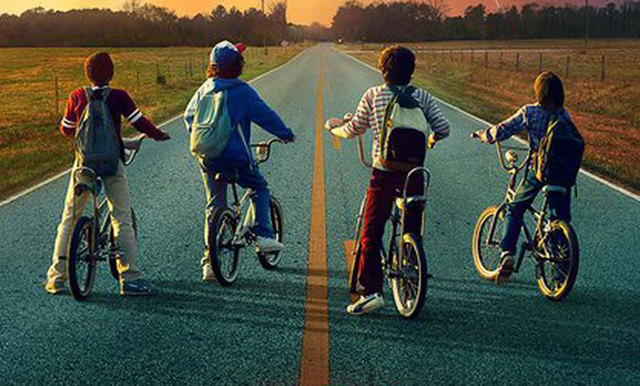 Season 2 of Stranger Things is now streaming on Netflix.