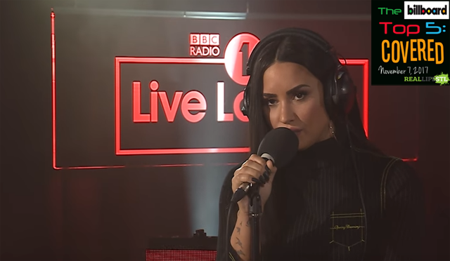 "Demi Lovato covers ""Too Good At Goodbyes"" by Sam Smith in The Billboard Top 5: Covered from RealLifeSTL."