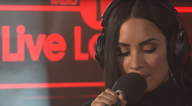 "Demi Lovato Covers ""Too Good At Goodbyes"" By Sam Smith"