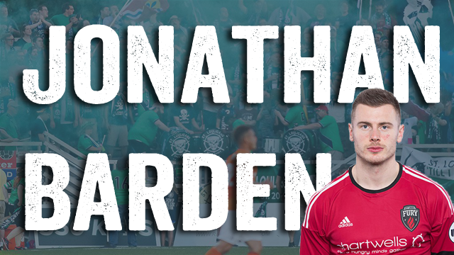 Jonathan Barden has been signed by Saint Louis FC of the United Soccer League.