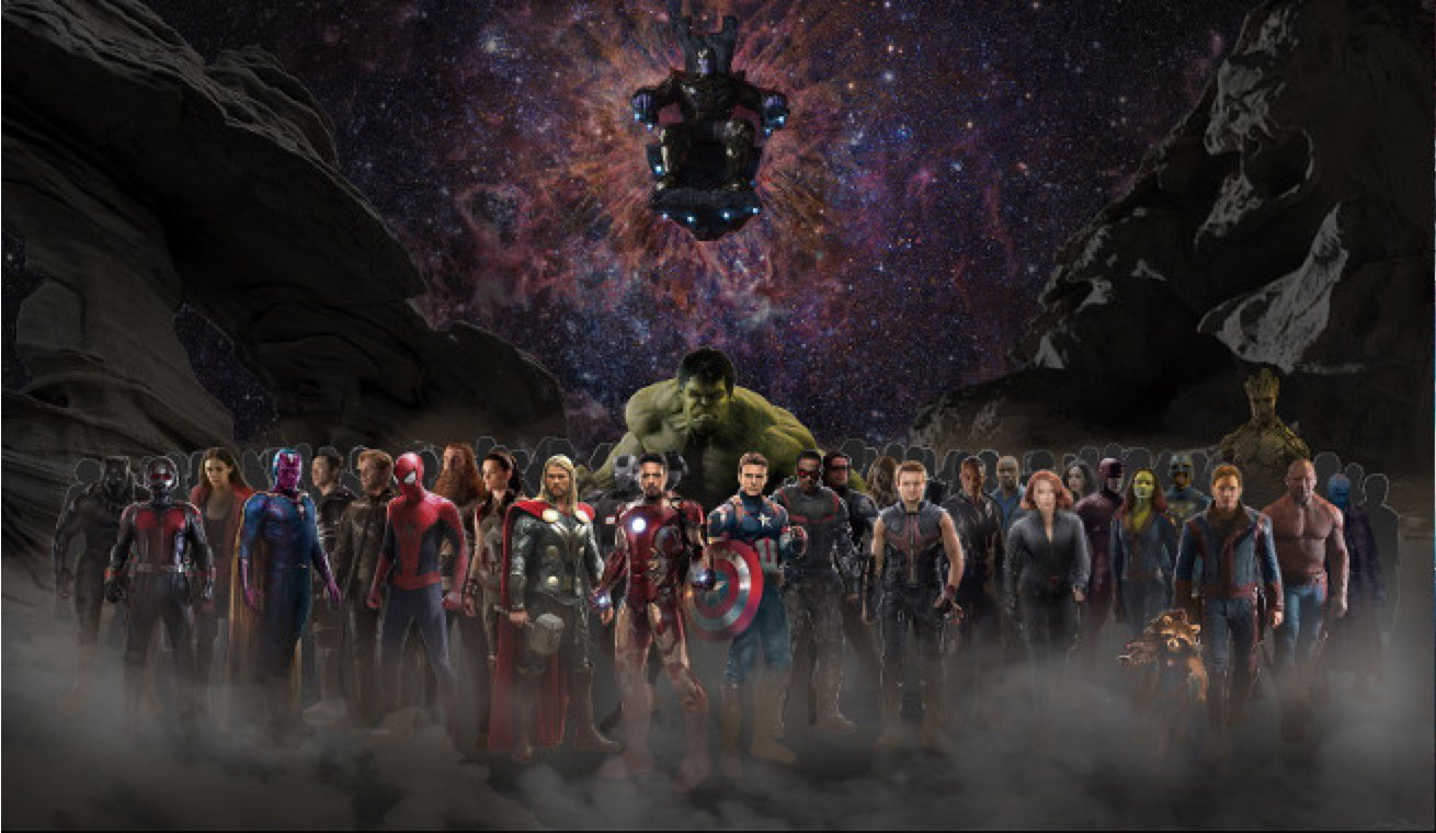 Avengers Infinity War Header Real Life Stl