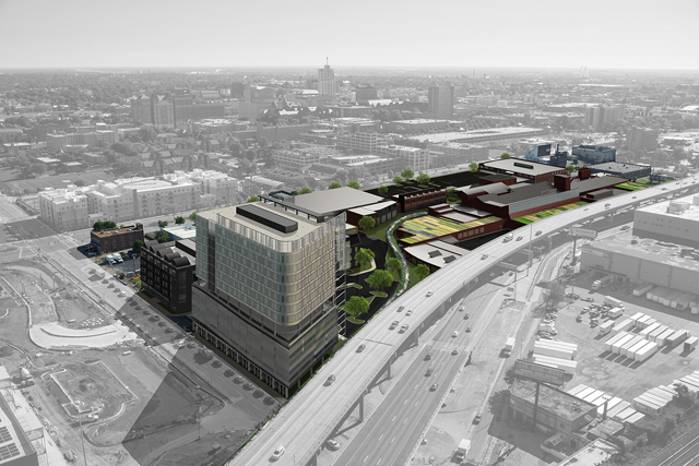 The Lawrence Group is developing the $230+ City Foundry project in Midtown. Alamo Drafthouse has announced that its first St. Louis theater will be located in the development.