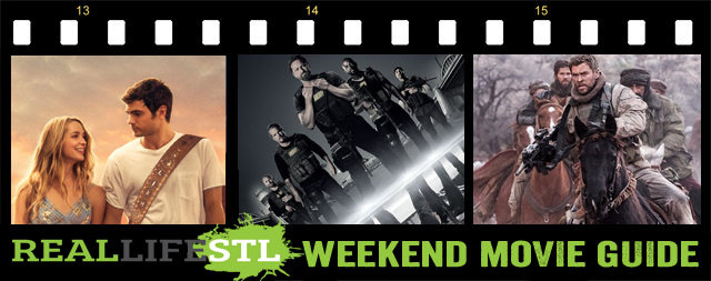 Den of Thieves, 12 Strong and Forever My Girl open in movie theaters across St. Louis this weekend. It's the Weekend Movie Guide from RealLifeSTL.