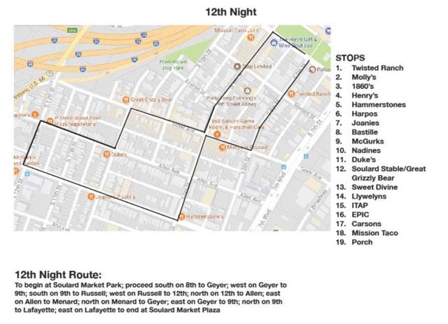The 12th Night Parade kicks off the Mardi Gras season in Soulard.
