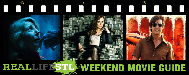 Molly'Game and Insidious: The Last Key open in movie theaters this weekend. It's the Weekend Movie Guide from RealLifeSTL.