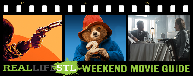Paddington 2, The Post, Proud Mary and The Commuter open in movie theaters this weekend. It's the Weekend Movie Guide from RealLifeSTL.