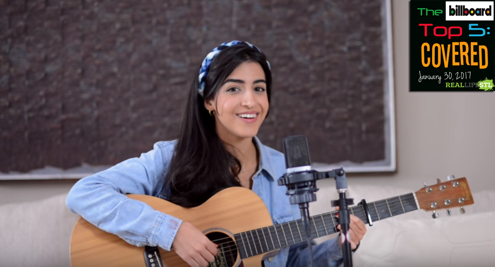 "Luciana Zogbi covers ""Perfect"" By Ed Sheeran in this week's edition of The Billboard Top 5: Covered."
