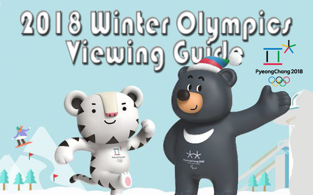 Your guide to following the 2018 Winter Olympics in South Korea.