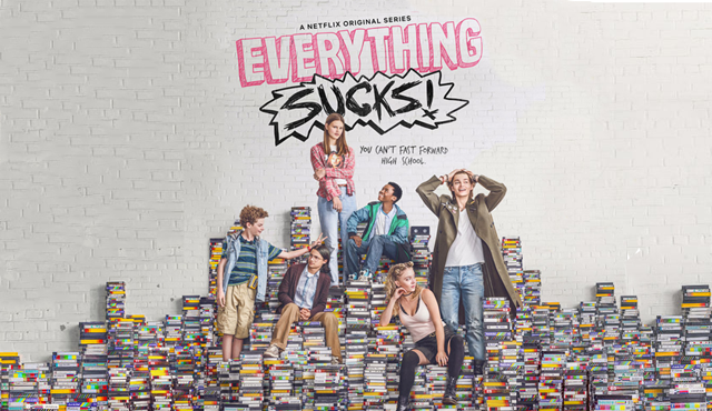The first season of Everything Sucks! is now streaming on Netflix.
