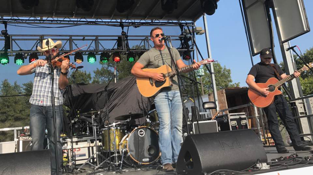 Jake Shafer recently moved from his hometown of Moscow Mills, Missouri to Nashville to pursue a country music career. He's play a set Tuesday night at Tin Roof in downtown St. Louis.