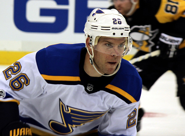 The St. Louis Blues traded center Paul Stastny to the Winnipeg Jets on February 26, 2018.