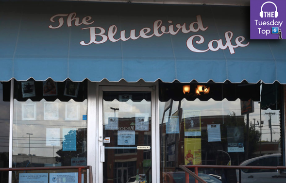 The Bluebird Cafe in Nashville is one of the most iconic live music venues in America. Check out some of the best performances at the venue in the Tuesday Top Five.