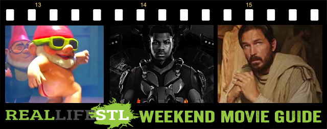 Pacific Rim Uprising, Sherlock Gnomes and Paul, Apostle of Christ highlight the Weekend Movie Guide from RealLifeSTL.