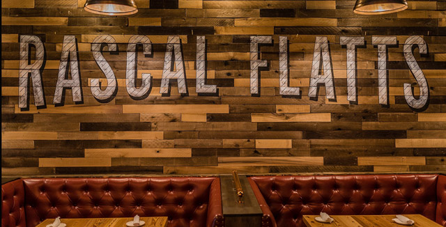 Rascal Flatts Restaurant in Stamford, Connecticut. A building permit was issued for a location of the restaurant in downtown St. Louis.