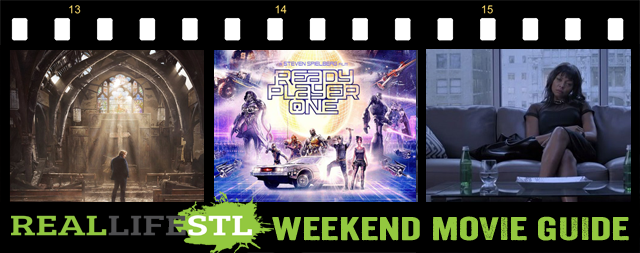 Ready Player One, Tyler Perry's Acrimony and God's Not Dead: A Light In The Darkness open in movie theaters this weekend. It's the Weekend Movie Guide from RealLifeSTL.