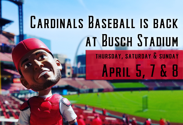St. Louis Cardinals baseball is back at Busch Stadium this weekend for the first time in 2018. Check it out in the RealLifeSTL Weekly Roundup