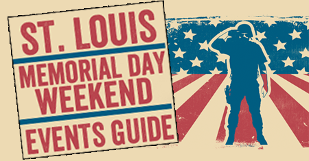 memorial day weekend events around st louis in 2018. Black Bedroom Furniture Sets. Home Design Ideas