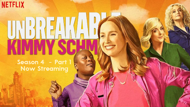 St. Louis native Ellie Kemper stars in Unbreakable Kimmy Schmidt on Netfrlix. The first six episodes of season 4 are now streaming.